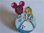 Disney Trading Pin 74782 DLR - Disneyland Happiest Memories on Earth Mystery Pin Collection - Alice Only
