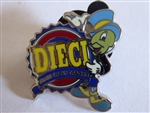 Disney Trading Pins 74970 DLR - Promotion - Disney Pin Trading 10th Anniversary - Jiminy Cricket