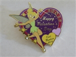 Disney Trading Pins   74992 2010 Valentine's Day Cast Exclusive Pin with Tinker Bell