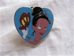 Disney Trading Pin 75092: DLR/WDW - 2010 Hidden Mickey Series - Princess Hearts (Tiana)