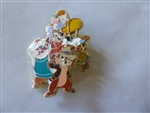 Disney Trading Pin 75314 Disney Store Europe - Rescue Rangers - Chip, Dale, Monterey Jack, Gadget & Zipper (Dangle)