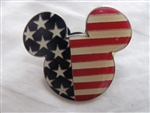 Disney Trading Pin 7562 DVC - Mickey Flag USA