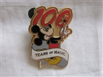 Disney Trading Pin 7581: 100 Years of Magic Disney Travel Company Flex Pin