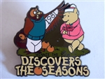 Disney Trading Pin  7587 100 Years of Dreams #32 Winnie the Pooh Discovers the Seasons