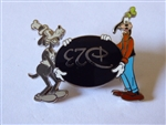 Disney Trading Pin 76038 DMR - D23 Goofy and Pluto - Goofy Only