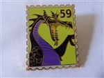 Disney Trading Pins   76096 Disneystore.com- Postage Stamp Maleficent as Dragon Pin
