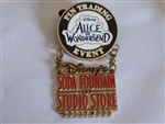 Disney Trading Pin 76215 DSF - Alice in Wonderland - Trading Event Logo