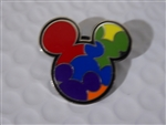 Disney Trading Pin Bright Mickey Mouse Icons