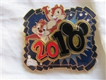 Disney Trading Pin  76542: White Glove - Dated 2010 - Chip and Dale