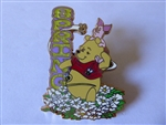Disney Trading Pin 76586 DisneyStore.com - Spring Sparkle Series - Winnie the Pooh and Piglet