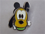 Disney Trading Pin Cute Characters - Faces  - Pluto