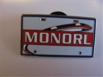 Disney Trading Pins Attraction Vehicle License Plate Frame (MONORL)