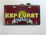 Disney Trading Pins Attraction Vehicle License Plate Frame (EXPEVRST)