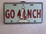 Disney Trading Pins Attraction Vehicle License Plate Frame (GO4LNCH)