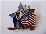 Disney Trading Pin 77707 Independence Day 2010 - Collectors Set - Goofy ONLY