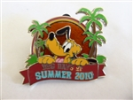 Disney Trading Pin 77713 Dog Days of Summer 2010 - Pluto