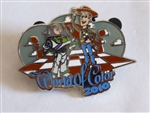 Disney Trading Pins  77808 DLR - World of Color 2010 - Buzz Lightyear and Woody