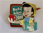 Disney Trading Pins 78259: Back to School 2010 - Pinocchio