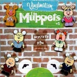 Disney Trading Pin Vinylmation Collectors Set - Muppets