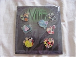 Disney Trading Pins 78566: Mini-Pin Collection - Villains
