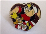 Disney Trading Pin Queen of Hearts and King of Hearts