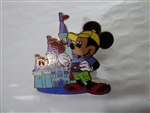 Disney Trading Pins Walt Disney World - Mickey Mouse at Cinderella Castle