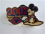Disney Trading Pin 7890: DCL 2002 Logo Pin