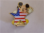 Disney Trading Pin DS - Mickey Flag Series (America)