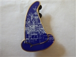 Disney Trading Pins 79203 WDI - Sorcerer Hats Mystery Pin Collection - Colors #2 - Castle Blueprint