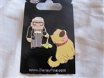 Disney Trading Pin  79392: Disney-Pixar's Up - Dug and Carl Fredricksen