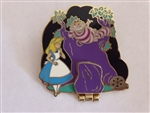 Disney Trading Pin 79459: Walt's Classic Collection - Alice in Wonderland (Alice and the Cheshire Cat ONLY)