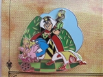 Disney Trading Pin 79460: Walt's Classic Collection - Alice in Wonderland (Queen of Hearts ONLY)