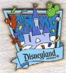 Disney Trading Pins Celebrate Everyday Sleeping Beauty Castle - Light Blue