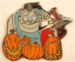 Disney Trading Pin 80023: Mystery Collection - Tim Burton's The Nightmare Before Christmas - Behemoth and Lock Only