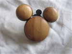 Disney Trading Pins 80104: Mickey Mouse Icon - Wood