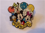 Disney Trading Pin  80160 Jerry Leigh - Happy Birthday Fab 4 with balloons