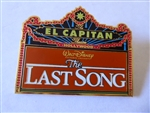 Disney Trading Pin 80529 DSF - El Capitan Marquee - The Last Song