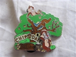 Disney Trading Pin 80706: DLR - Disneyland® Attraction Tiered Collection - Chip 'n Dale Treehouse
