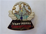 Disney Trading Pin 80746 WDW - Mickey's Very Merry Christmas Party 2010 - Framed Set - Completer Pin