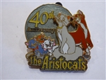 Disney Trading Pin 81156 Disney's Aristocats 40th Anniversary