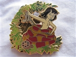 Disney Trading Pin 81205: Walt's Classic Collection - The Jungle Book - Mowgli and Kaa ONLY