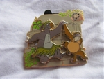 Disney Trading Pin 81206: Walt's Classic Collection - The Jungle Book - Baloo and King Louie ONLY
