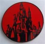 Disney Trading Pins 2011 Park Icons - Mini-Pin Collection - Castle