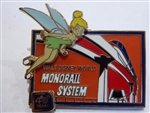 Disney Trading Pins 81949 WDW - 40th Anniversary of Walt Disney World® - Tinker Bell and Monorail