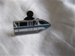 Disney Trading Pin 82314: DLR - 2011 Hidden Mickey Series - Monorail Collection - Mark V Light Blue