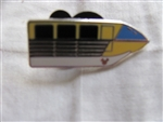 Disney Trading Pins 82316: DLR - 2011 Hidden Mickey Series - Monorail Collection - Mark II Yellow