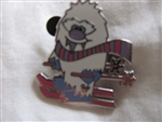 Disney Trading Pins 82362: WDW - 2011 Hidden Mickey Series - Cute Yeti Collection - Skiing