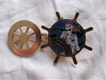 Pirates of the Caribbean - Skeleton at the Helm (Hinged)