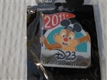 Disney Trading Pin  82539 D23 - 2011 Renewal Pin - Dale with Mickey Ears Hat