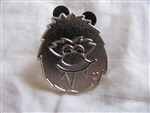 Disney Trading Pins 82557: WDW - 2011 Hidden Mickey Series - Cute Yeti Collection - Face (CHASER)